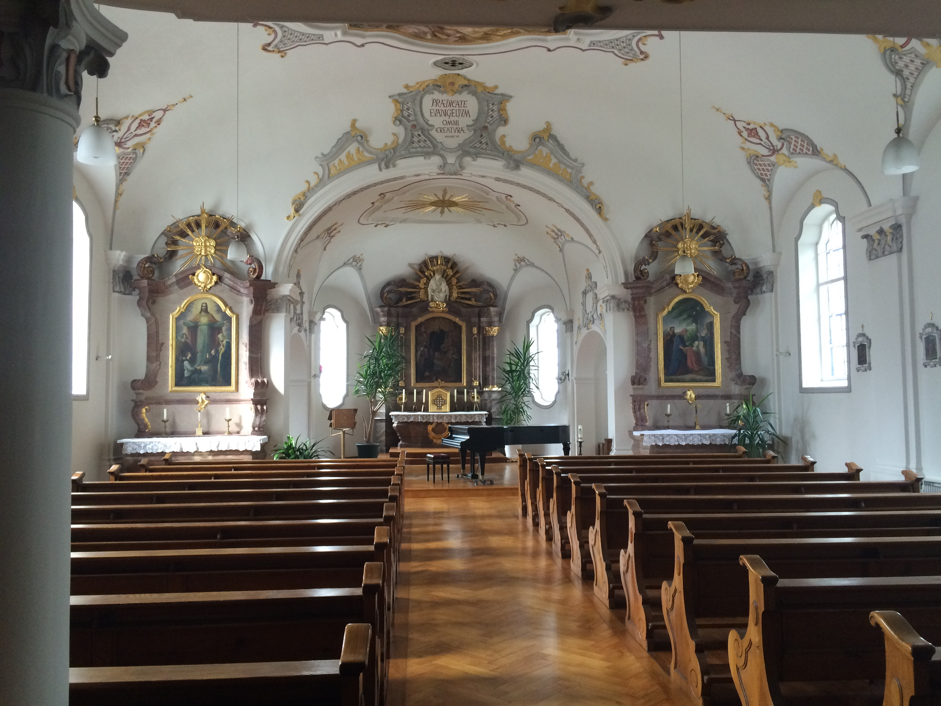 The Madonna Centre chapel at Reimlingen